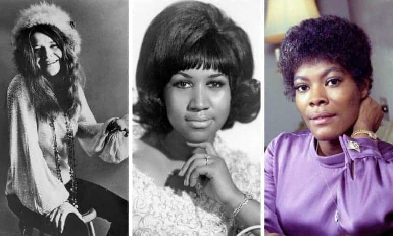 Female singers of the '60s