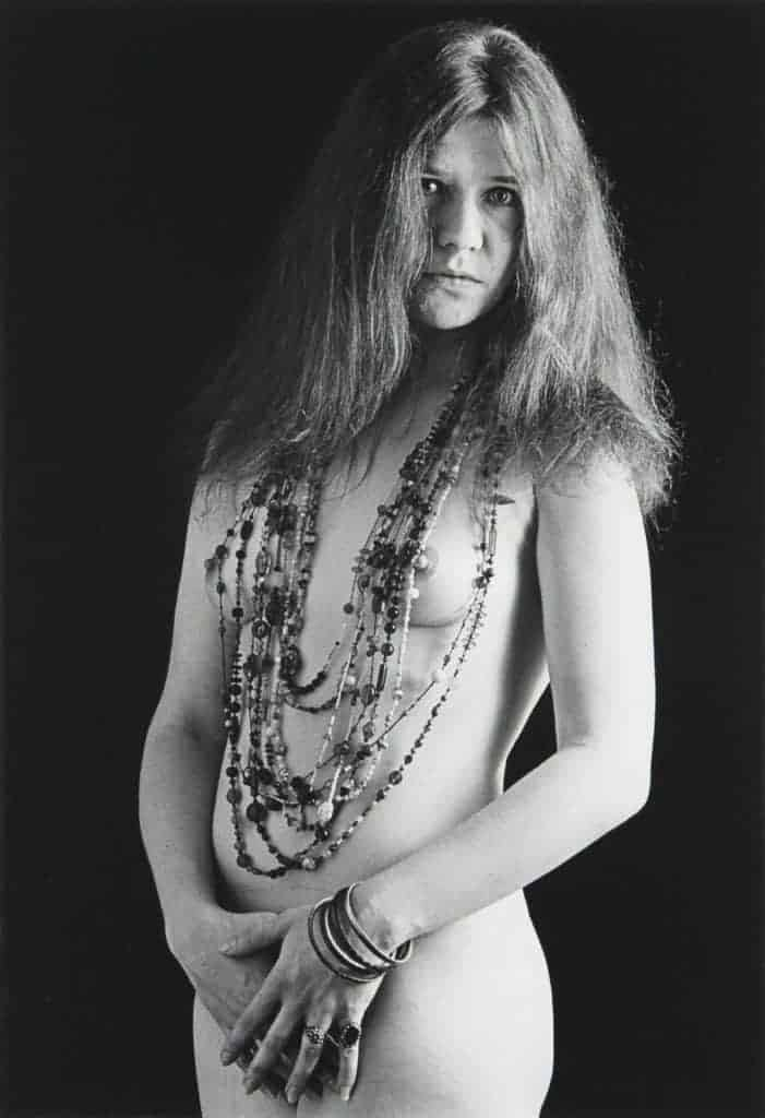 Janis Joplin nude.