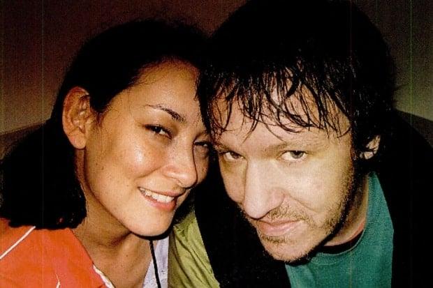 Elliott Smith and his girlfriend Jennifer Chiba.