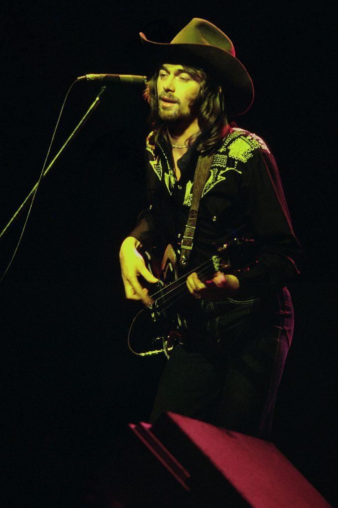 Bad Company bassist Boz Burrell (1979).