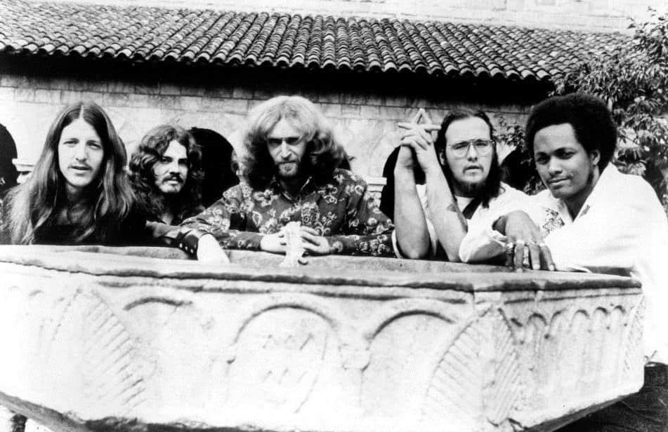 Photo of The Doobie Brothers in 1972.