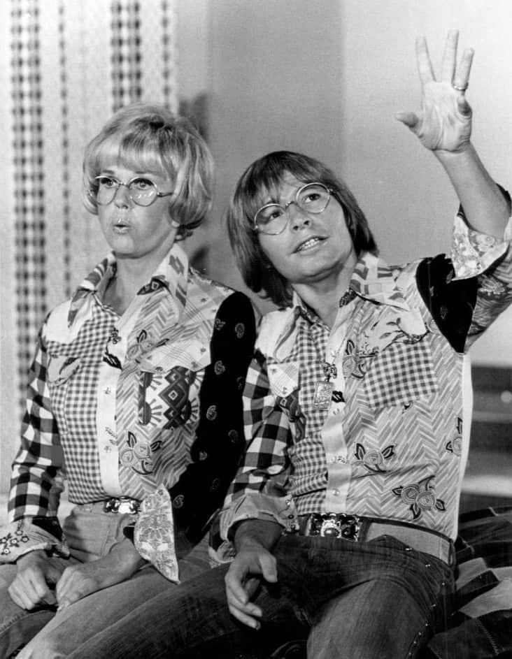 Lily Tomlin and John Denver from the television John Denver Special.