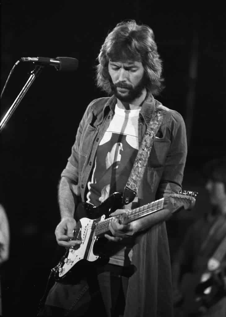Eric Clapton - Swing Auditorium, San Bernardino, CA, There's One In Every Crowd Tour.
