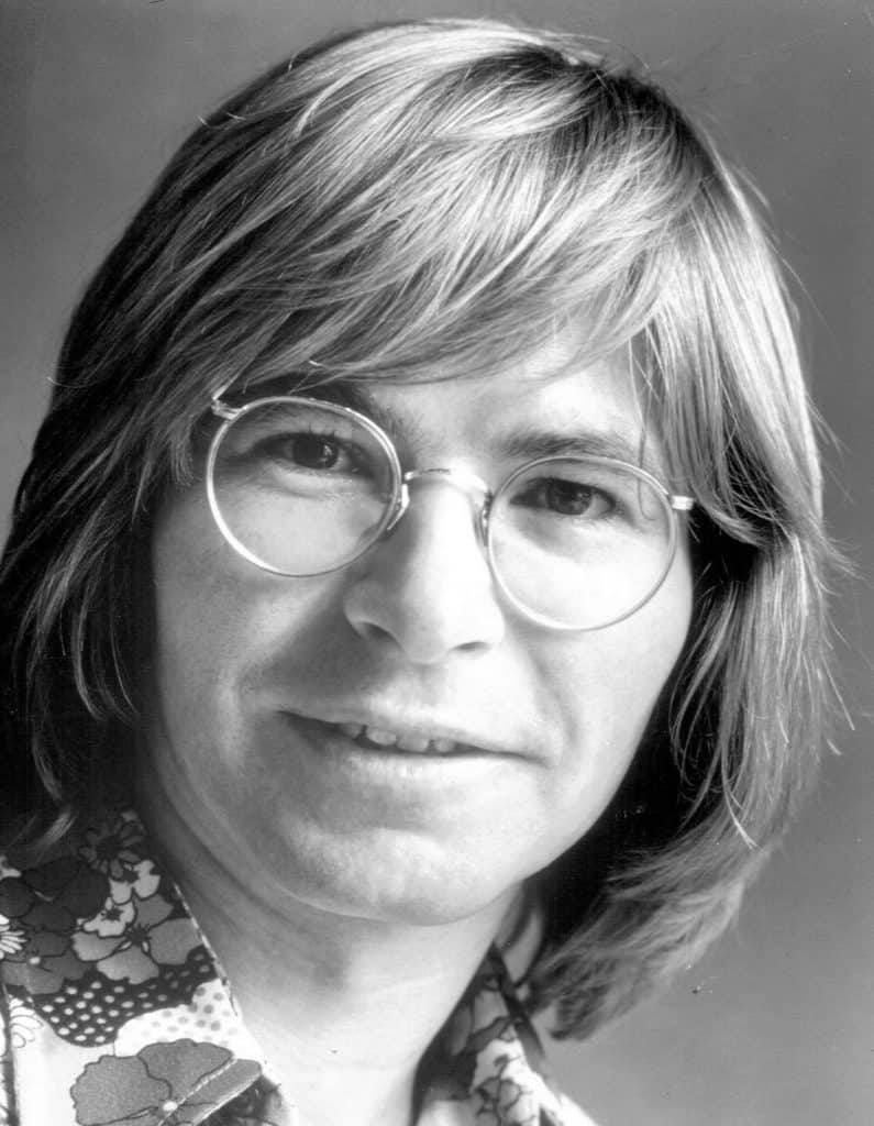 Photo of John Denver from 1974.