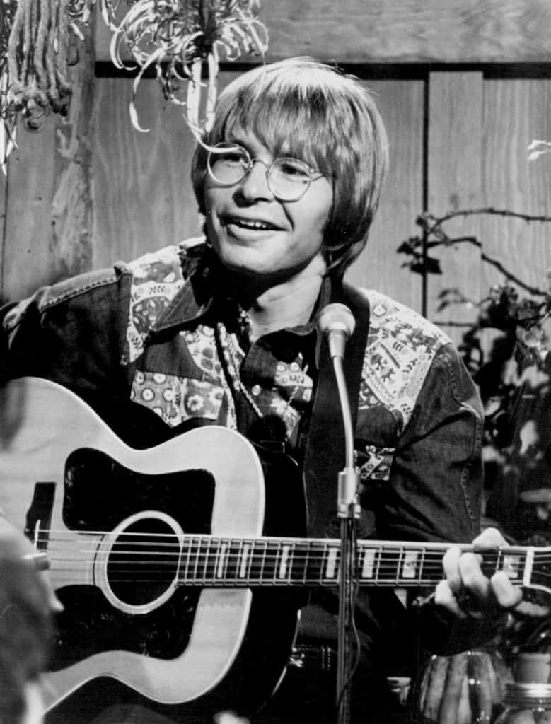 Photo of John Denver from the television special An Evening With John Denver.