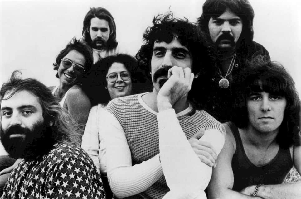 Lowell George and The Mothers of Invention in 1971.