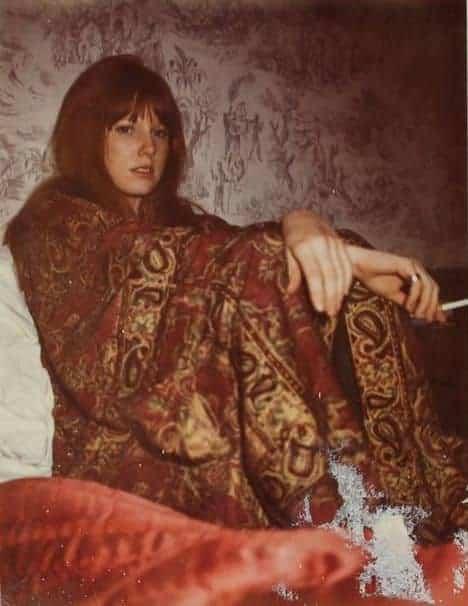 Photo of Pamela Courson taken by Jim Morrison.