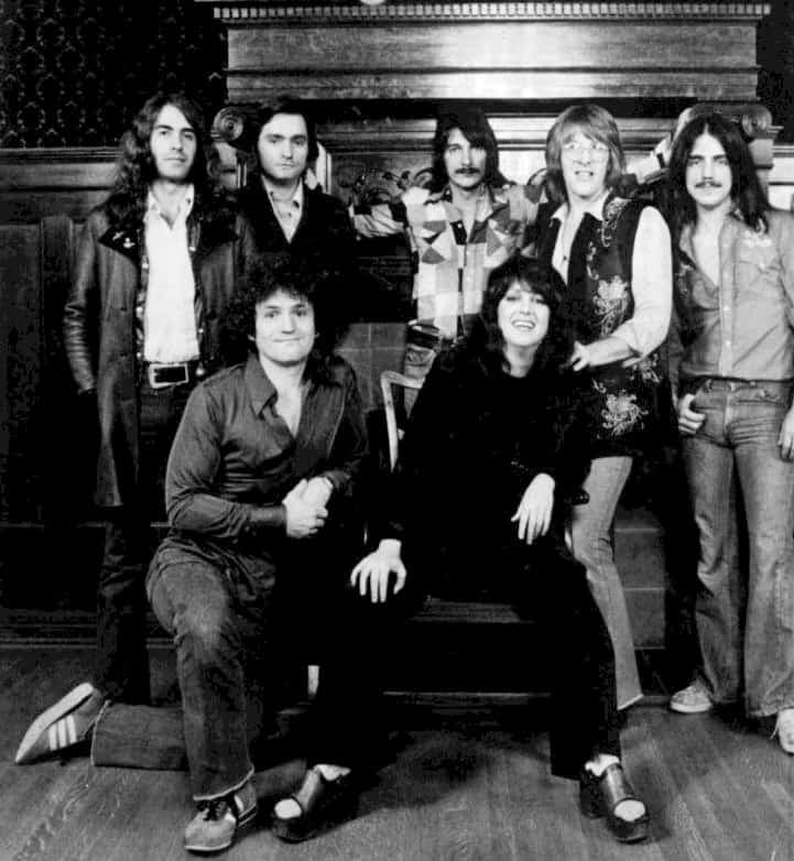 Publicity photo of Jefferson Starship in 1976.