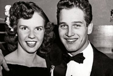 Jackie Witte and Paul Newman