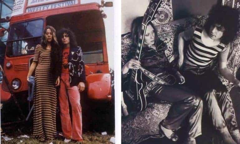 June Child and Marc Bolan