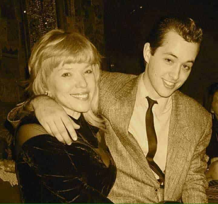 Patricia Ecker and her son James Page.