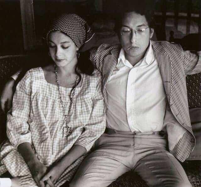 Bob and Sara Dylan.