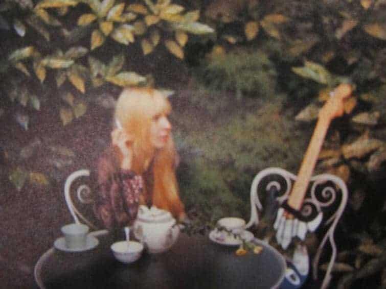 Photo of Monika Dannemann at the Samarkand Hotel (1970).