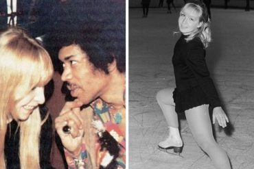 Monika Dannemann and Jimi Hendrix