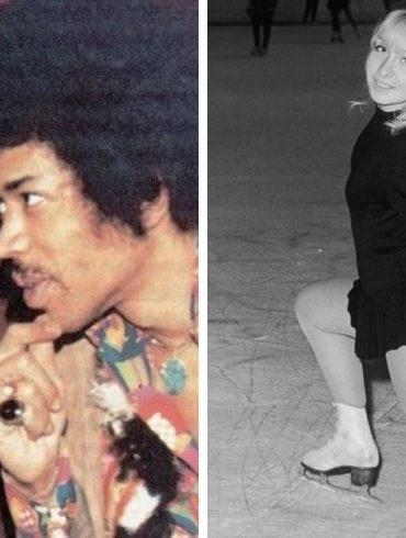 Monika Dannemann and Jimi Hendrix