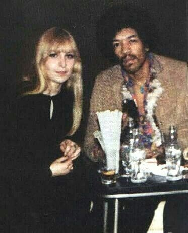 Monika Dannemann and Jimi Hendrix.