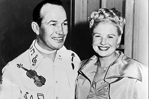 Spade Cooley and his wife Ella Mae Cooley.