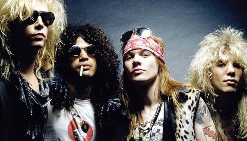 '80s bands Guns N Roses