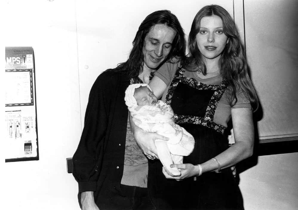Bebe Buell, Tod Rundgren, and Liv Tyler.