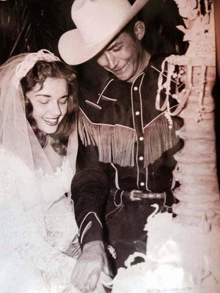 Hank Williams & Billie Jean Williams (1952).