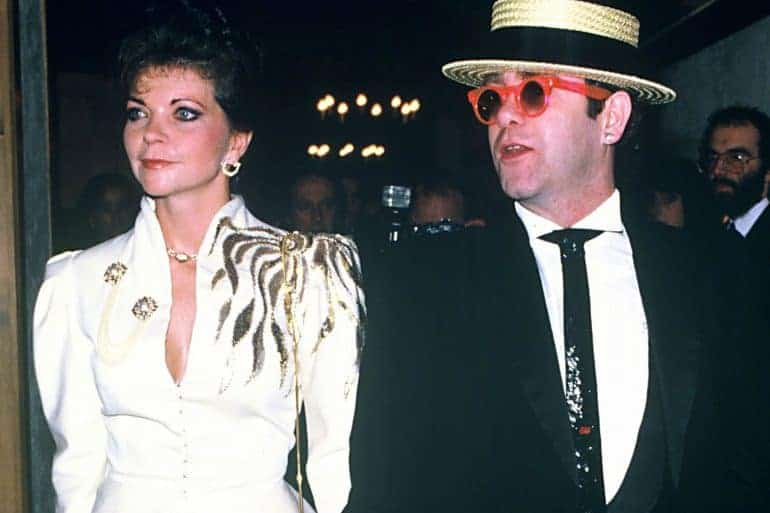 Renate Blauel Elton John Wife