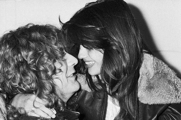 Robert Plant and Audrey Hamilton.