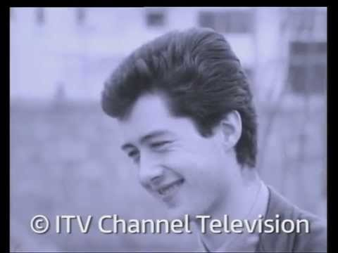 A young Jimmy Page being interviewed in 1963.