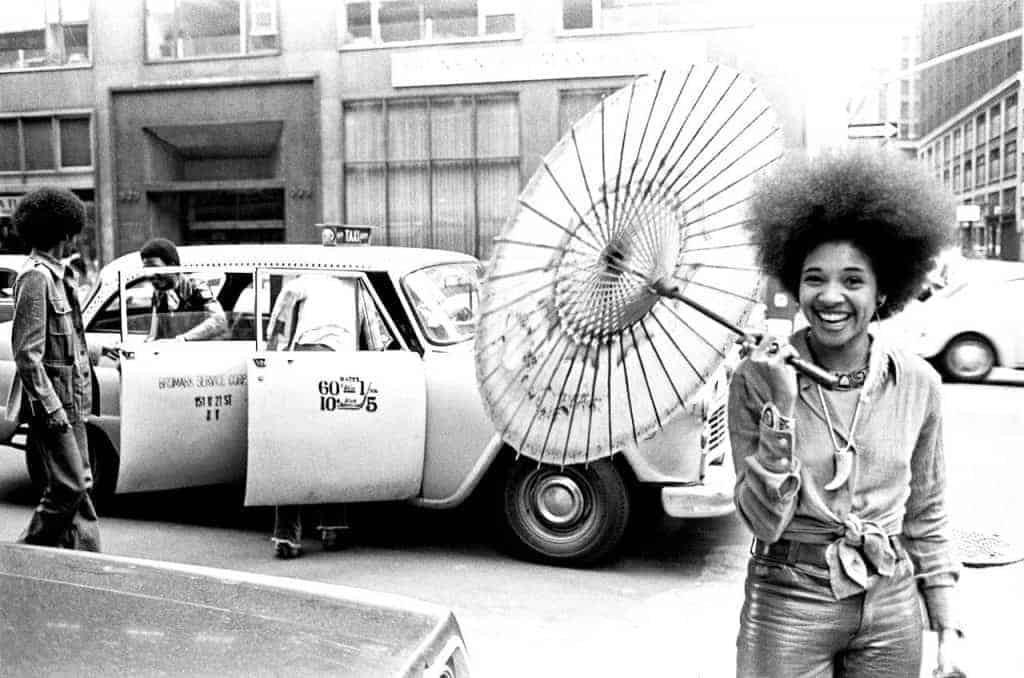 Betty Davis in New York City. Photo by Robert Brenner.