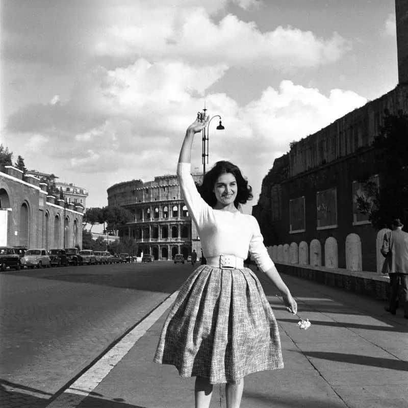 Dalida in Rome (1958).