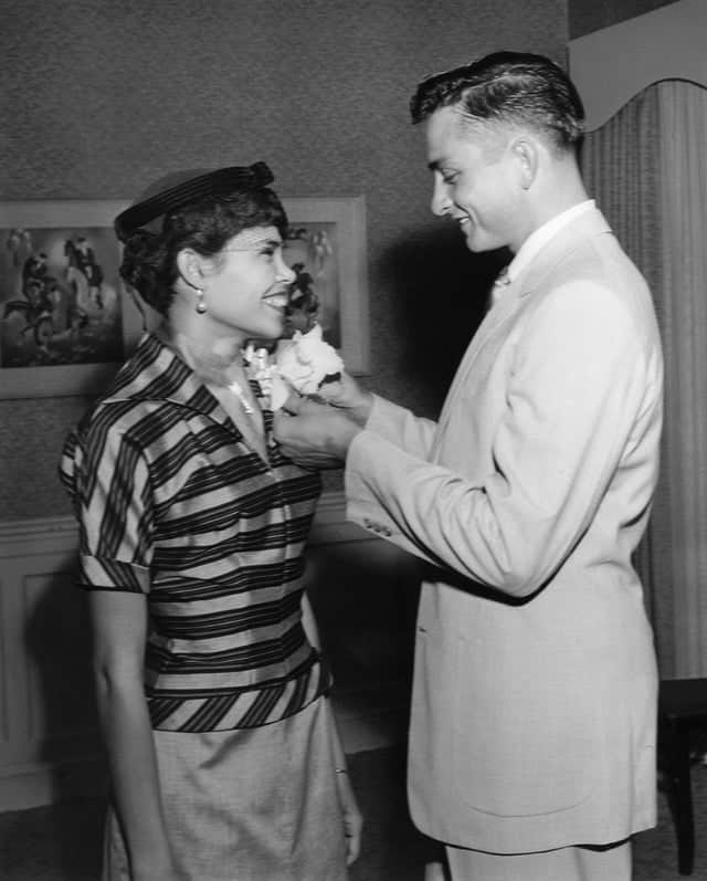 Johnny Cash first wife Vivian Liberto, 1951.