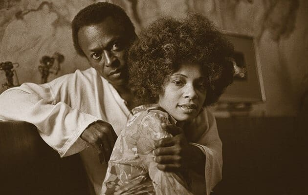Miles Davis and Betty Davis (1969).