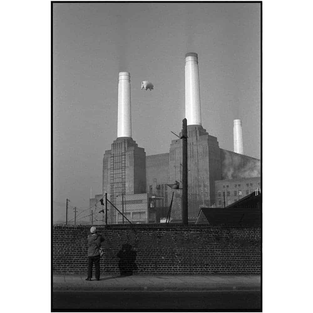 Pink Floyd Animals Battersea Power Station by Carinthia West.