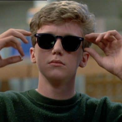 Anthony Michael Hall in the Breakfast Club