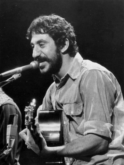 Jim Croce from the second anniversary of the In Concert music program. The program aired footage of a performance Croce had given previously.