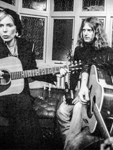 Joni Mitchell and Bob Dylan
