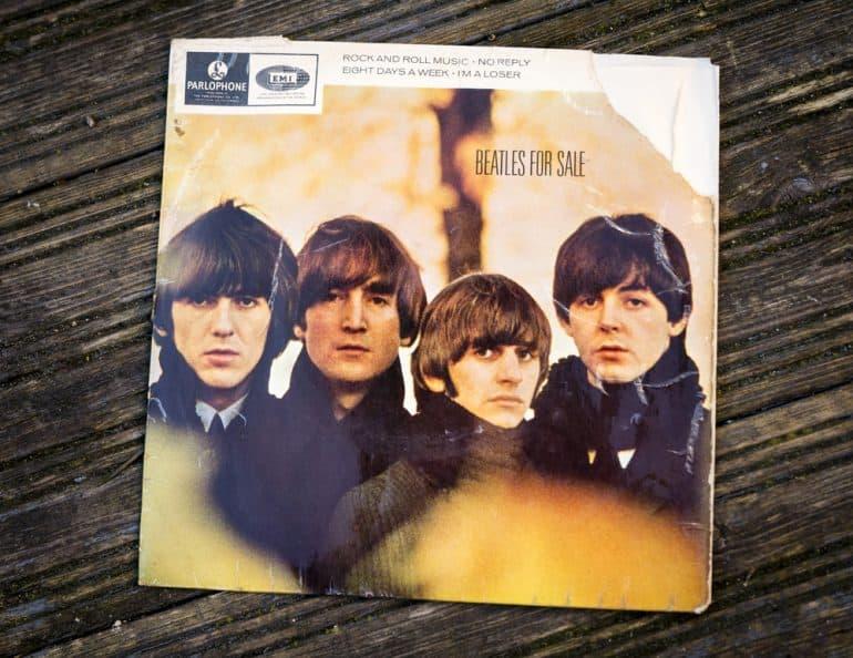 Top Ten Beatles Album Covers